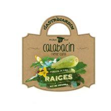 Vuelta a las Raíces: Kit de siembra Calabacín verde claro