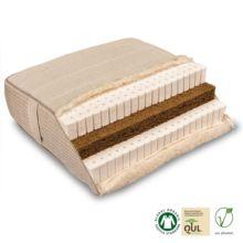 Colchón Piuma Coko de látex natural y fibra de coco