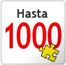 1000 piezas