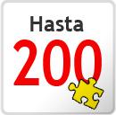 De 101 a 200 piezas