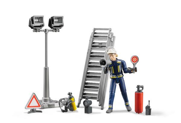 Pack bombero con escalera, extintor y señal - Ítem2