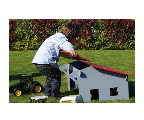 Almacén para tractores de juguete escala 1:16 uhkids uhk1000 - Ítem1