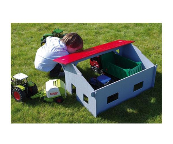 Almacén para tractores de juguete escala 1:16 uhkids uhk1000 - Ítem2