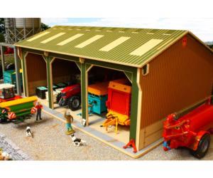 Almacén para miniaturas a escala 1:32 Brushwood Toys BBB150