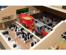 Granja de vacas a escala 1:32 Brushwood Toys BT3000 - Ítem1