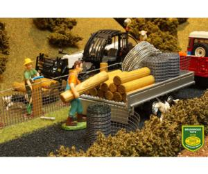 Pack de construcción de vallas Brushwood Toys BT3001