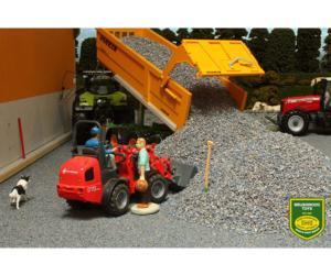 Grava gris oscuro Brushwood Toys BT3003