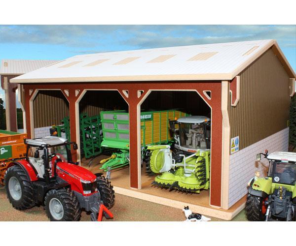 Almacén para miniaturas a escala 1:32 Brushwood Toys BT5000