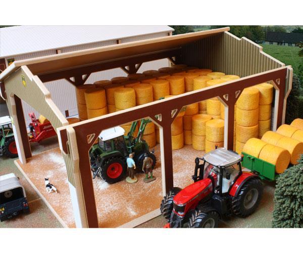 Almacén para pacas a escala 1:32 Brushwood Toys BT6000 - Ítem1