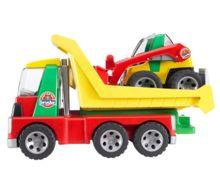 camion con minicargadora - Ítem1