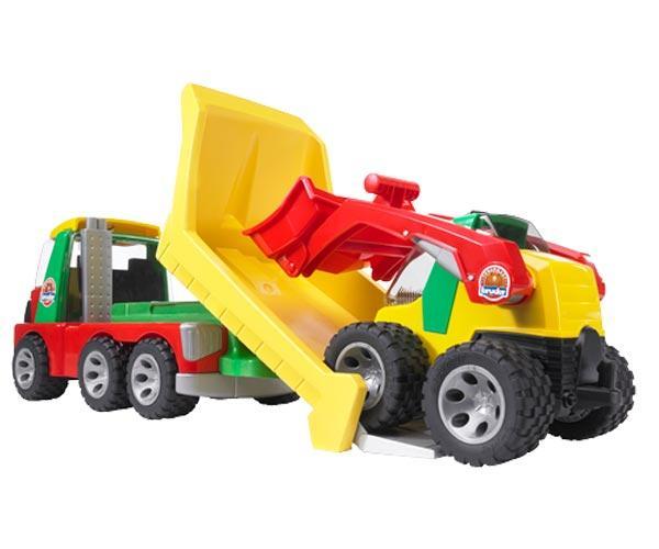 camion con minicargadora - Ítem2