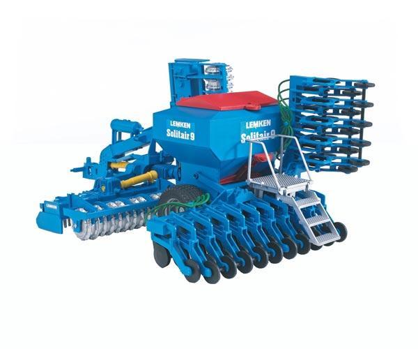 Recreación sembradora de juguete LEMKEN Solitair 9 Bruder 02026