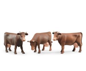 1 vaca (3 modelos diferentes)