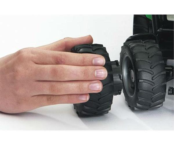 Juego de ruedas gemelas Tractores de juguete serie Top Profi 2000 llantas rojas - Ítem2