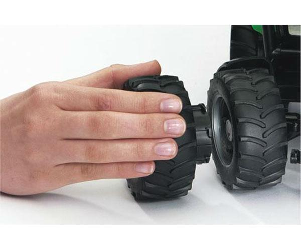 Juego de ruedas gemelas Tractores de juguete serie Top Profi 2000 llantas blancas - Ítem2