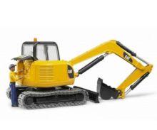 Miniexcavadora de juguete CATERPILLAR con trabajador Bruder 02466 - Ítem2