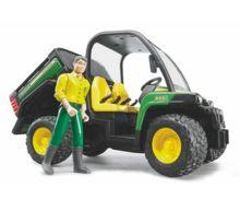 Vehiculo de juguete JOHN DEERE Gator XUV 855 D con conductor - Ítem1