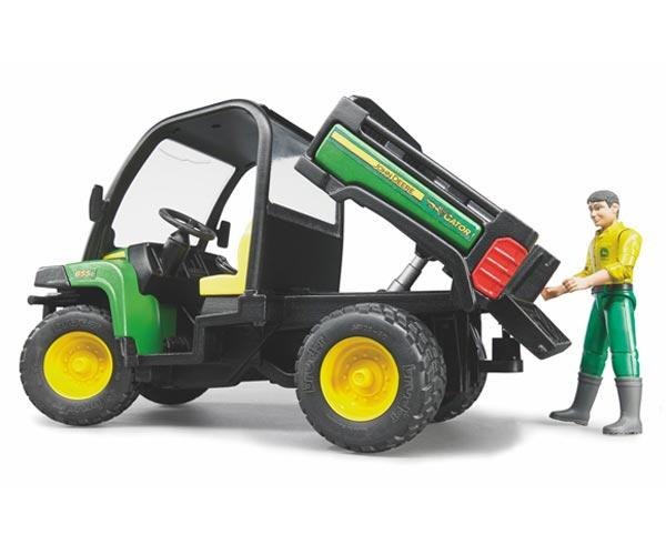 Vehiculo de juguete JOHN DEERE Gator XUV 855 D con conductor - Ítem2