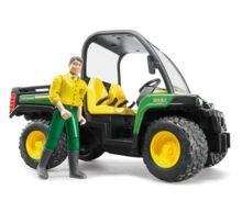 Vehiculo de juguete JOHN DEERE Gator XUV 855 D con conductor - Ítem3