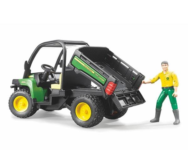 Vehiculo de juguete JOHN DEERE Gator XUV 855 D con conductor - Ítem4