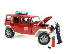 Todoterreno de juguete JEEP WRANGLER Unlimited Rubicon con bombero Bruder 02528 - Ítem2