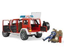 Todoterreno de juguete JEEP WRANGLER Unlimited Rubicon con bombero Bruder 02528 - Ítem5