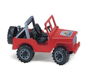 Vehiculo de juguete todo terreno (1 rojo, verde o amarillo)