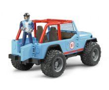Todoterreno de juguete JEEP Cross con conductor Bruder 02541 - Ítem3