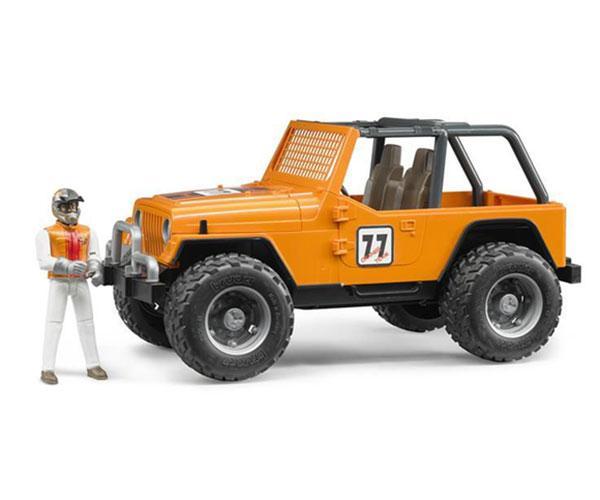 Todoterreno de juguete JEEP Cross con conductor Bruder 02542 - Ítem2