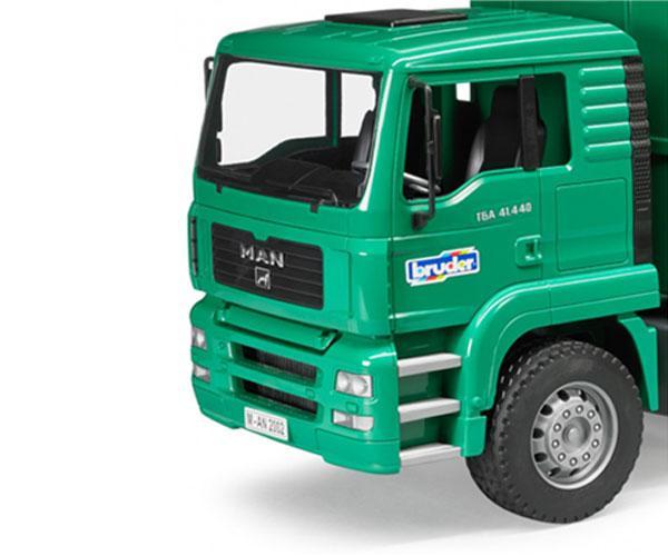 Camión de basura de juguete MAN TGA Bruder 02753 - Ítem4