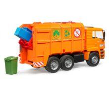 Camión de basura de juguete MAN TGA Bruder 02760 - Ítem2