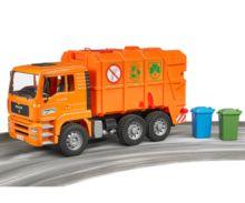 Camión de basura de juguete MAN TGA Bruder 02760 - Ítem5