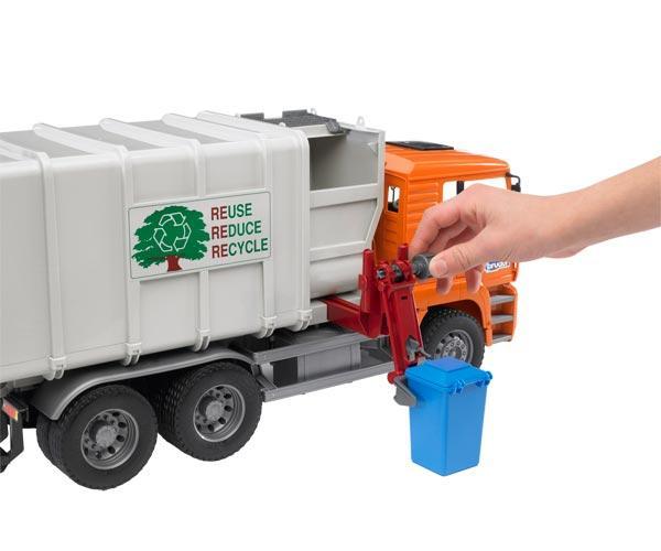 Camión basura de juguete MAN TG 410 A con carga lateral - Ítem1