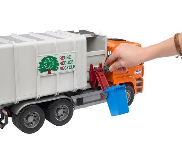Camión basura de juguete MAN TG 410 A con carga lateral - Ítem2