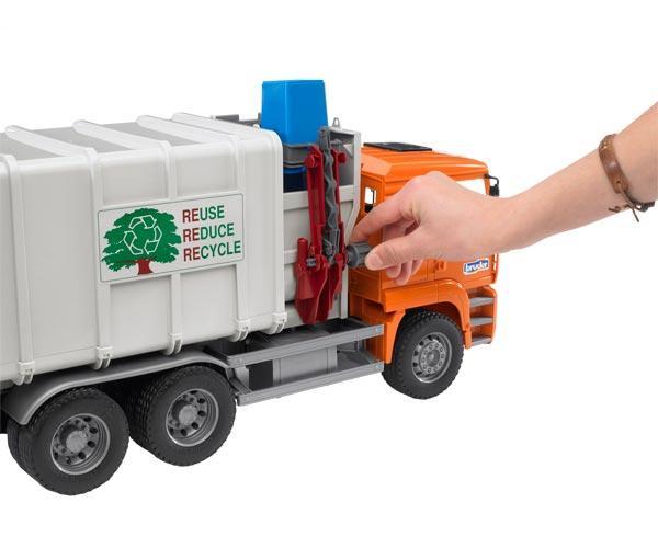 Camión basura de juguete MAN TG 410 A con carga lateral - Ítem3