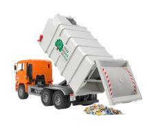 Camión basura de juguete MAN TG 410 A con carga lateral - Ítem4