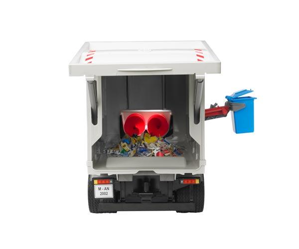 Camión basura de juguete MAN TG 410 A con carga lateral - Ítem5