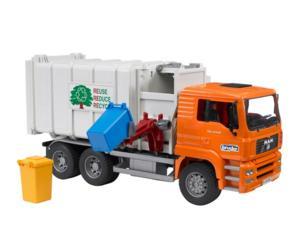 Camión basura de juguete MAN TG 410 A con carga lateral