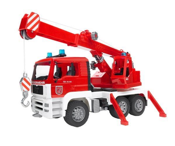 Camión bomberos de juguete MAN TG 410 A con luces y sonido - Ítem1