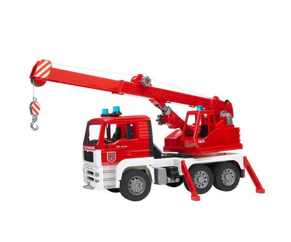 Camión bomberos de juguete MAN TG 410 A con luces y sonido