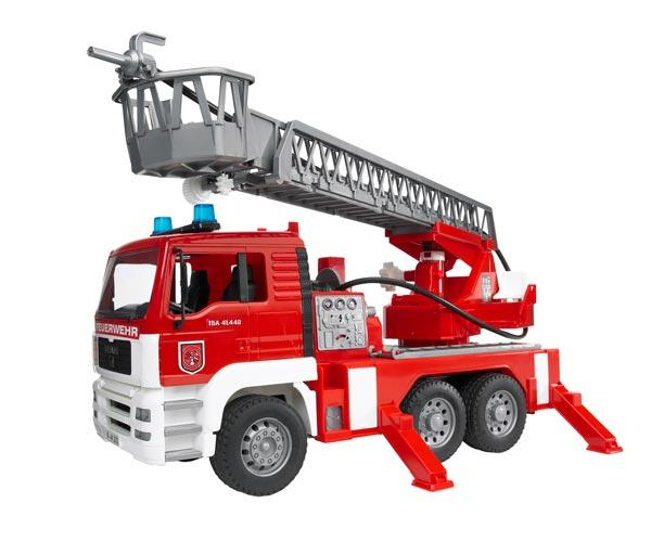 Camión bomberos de juguete MAN TG 410 A con escalera - Ítem1