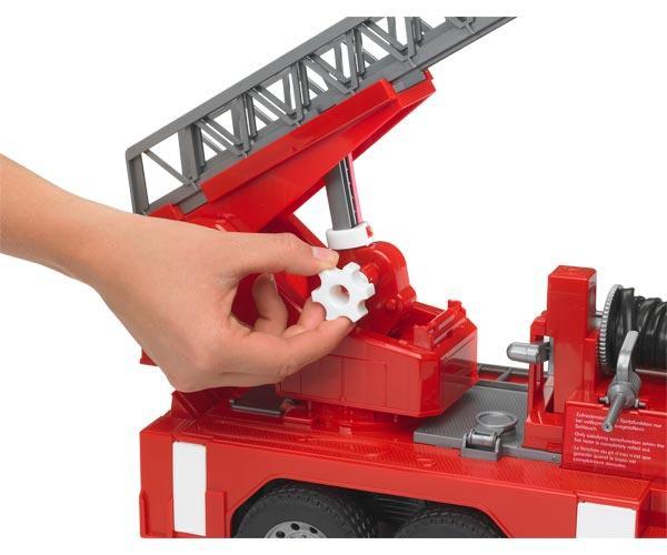 Camión bomberos de juguete MAN TG 410 A con escalera - Ítem3