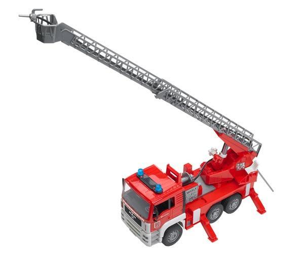 Camión bomberos de juguete MAN TG 410 A con escalera - Ítem5