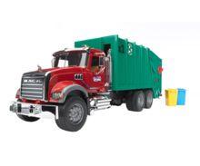 camion basura mack granite con carga trasera - Ítem3