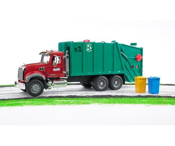 camion basura mack granite con carga trasera - Ítem5