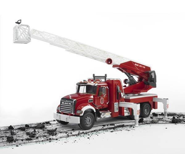 Camion bomberos de juguete MACK Granite - Ítem3