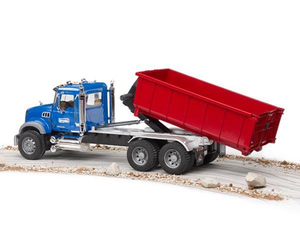 Camion de juguete MACK Granite LKW con contenedor - Ítem4