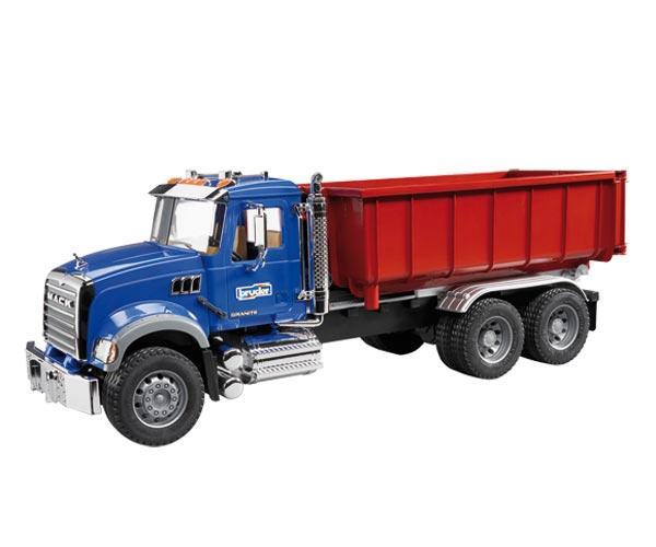 Camion de juguete MACK Granite LKW con contenedor
