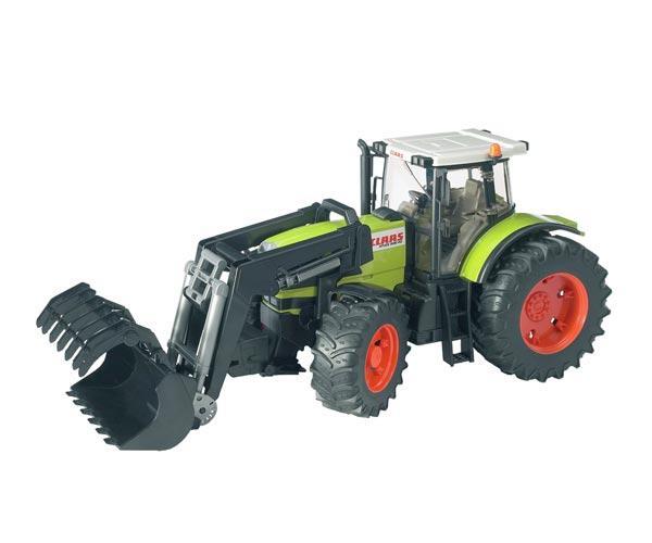 Tractor de juguete CLAAS Atles 936 RZ con pala