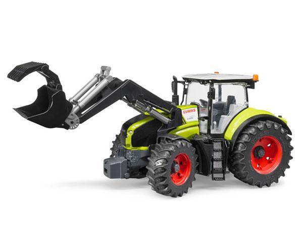 Tractor de juguete CLAAS Axion 950 con pala Bruder 03013 - Ítem1